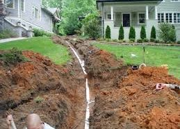 Sewer Line Install Image